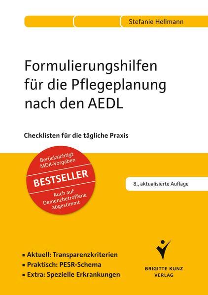 Formulierungshilfen für die Pflegeplanung nach den AEDL - Coverbild