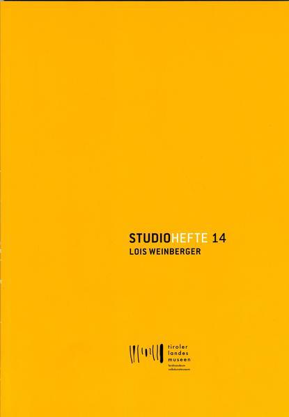 Studiohefte 14. Lois Weinberger - Coverbild