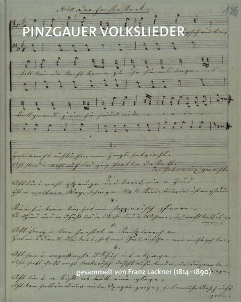 Pinzgauer Volkslieder - Coverbild