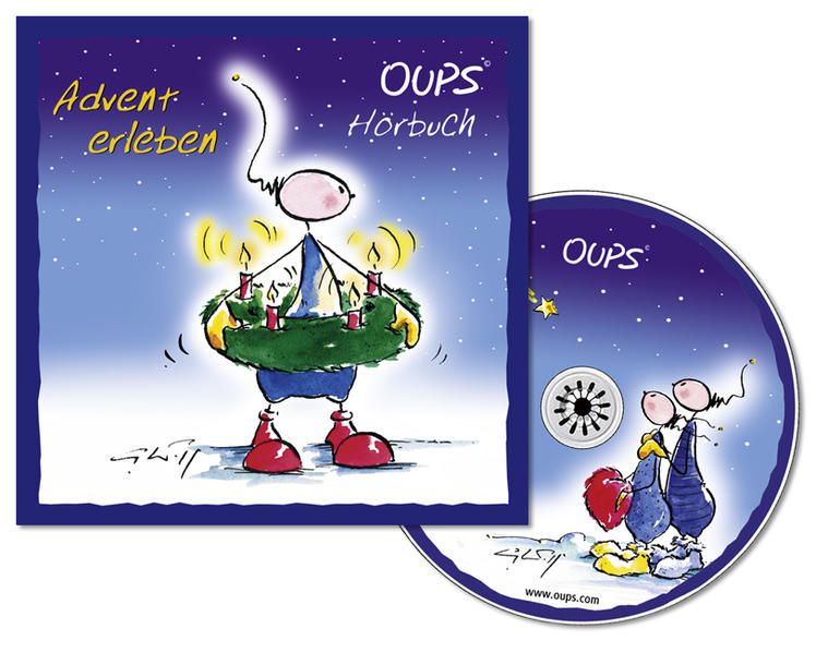 Hörbuch - Advent erleben - Coverbild