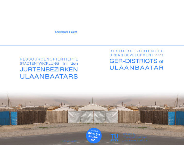 Resource-oriented Urban Development in the Ger Districts of Ulaanbaatar. - Coverbild
