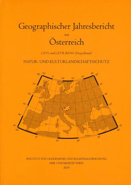 Natur- und Kulturlandschaftsschutz - Coverbild
