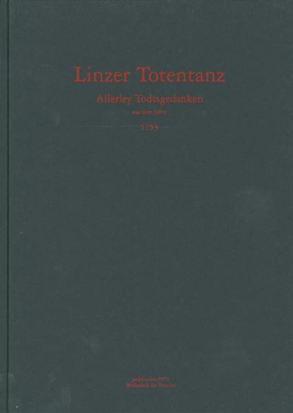 Linzer Totentanz - Coverbild