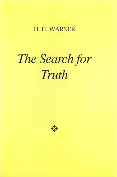 The search for truth - Coverbild