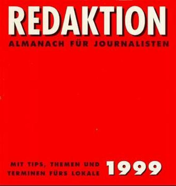 Redaktion. / Redaktion 1999 - Coverbild