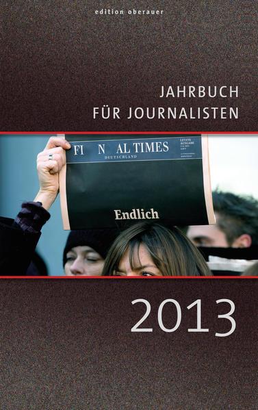 Jahrbuch für Journalisten 2013 - Coverbild