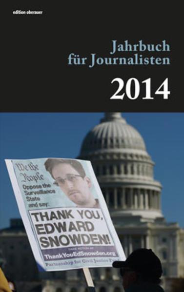 Jahrbuch für Journalisten 2014 - Coverbild
