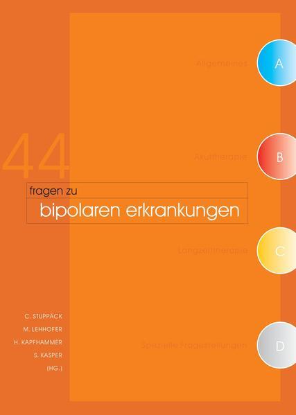 44 Fragen zu bipolaren Erkrankungen - Coverbild