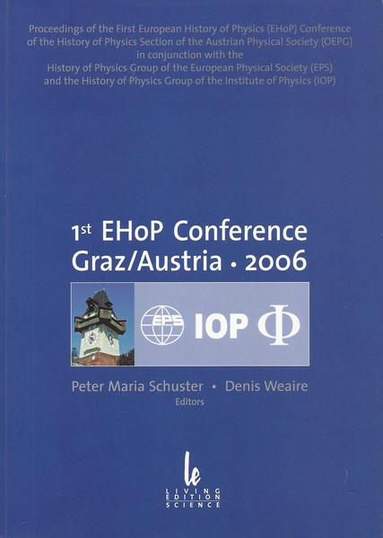 1st EHoP Conference, Graz/ Austria 2006 - Coverbild
