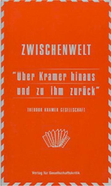 Jahrbuch der Theodor Kramer Gesellschaft / Über Kramer hinaus und zu ihm zurück - Coverbild