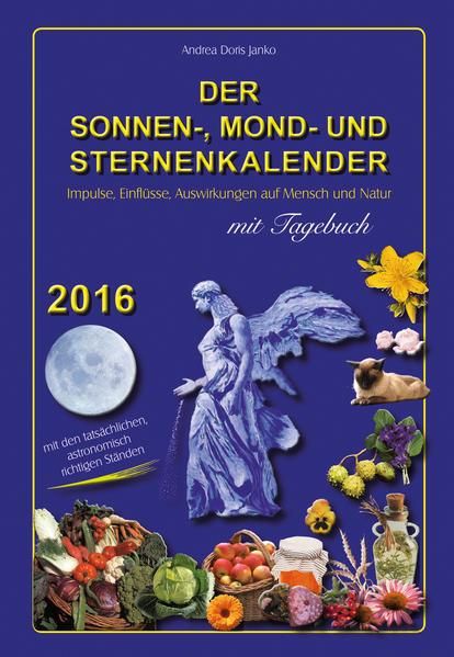 Der Sonnen-, Mond- und Sternenkalender 2016 - Coverbild