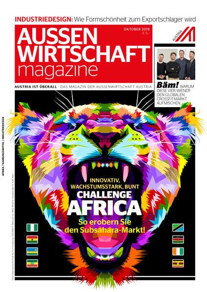 AUSSENWIRTSCHAFT magazine - Coverbild