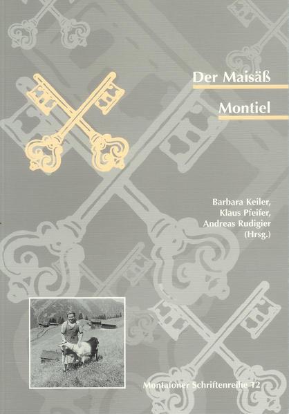 Der Maisäß Montiel - Coverbild