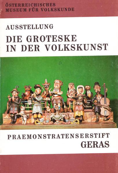 Die Groteske in der Volkskunst - Coverbild