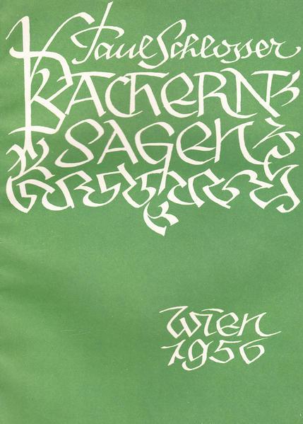 Bachern-Sagen - Coverbild