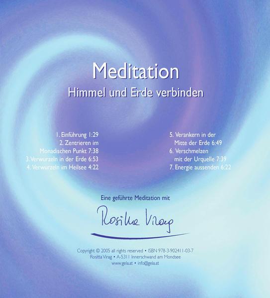 Meditation - Himmel und Erde verbinden - Coverbild