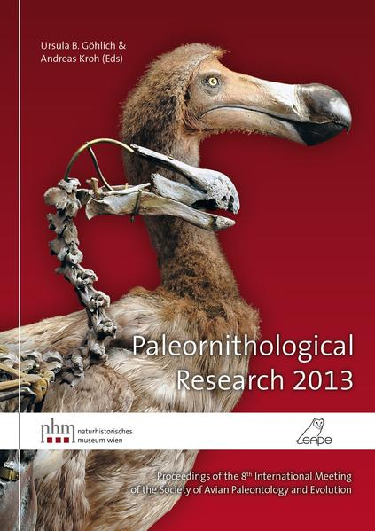 Paleornithological Research 2013 - Coverbild