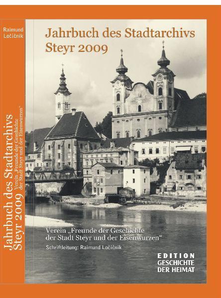 Jahrbuch des Stadtarchivs Steyr - Coverbild