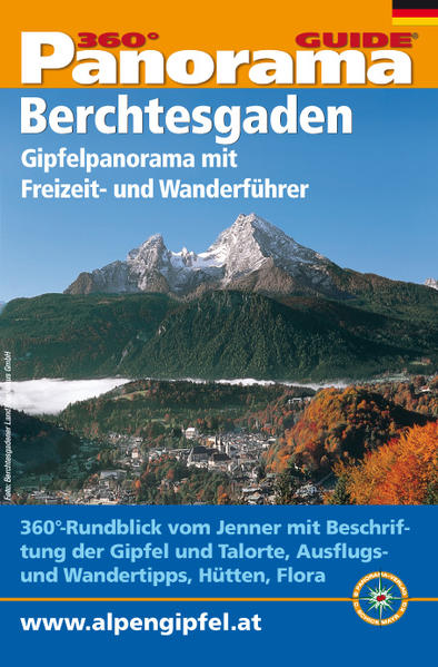 Panorama-Guide, Berchtesgadener Alpen - Coverbild