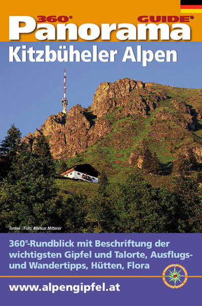 Panorama-Guide, Kitzbüheler Alpen - Coverbild