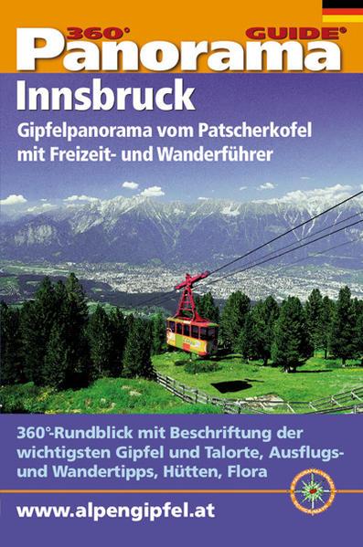 Panorama-Guide Innsbruck / Patscherkofel - Coverbild