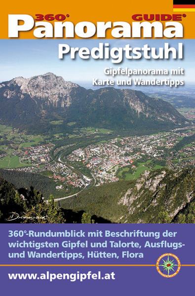 Panorama-Guide Predigtstuhl/Lattengebirge - Coverbild