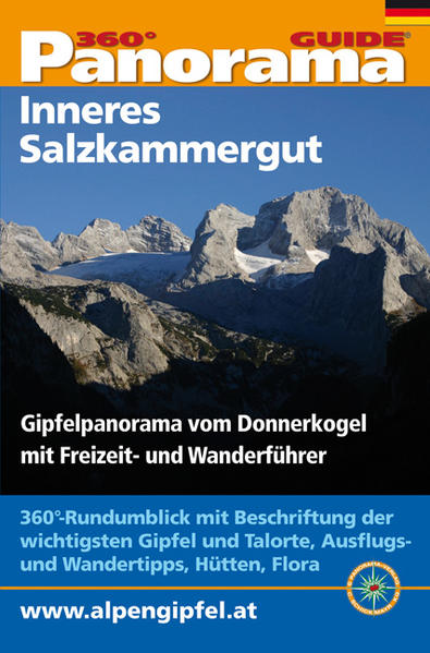 Panorama-Guide Inneres Salzkammergut - Coverbild