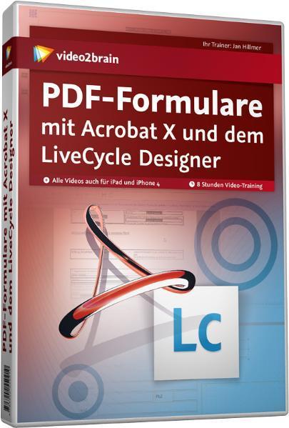 PDF-Formulare mit Acrobat X und dem LiveCycle Designer - Coverbild