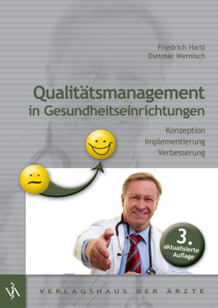 Qualitätsmanagement in Gesundheitseinrichtungen - Coverbild