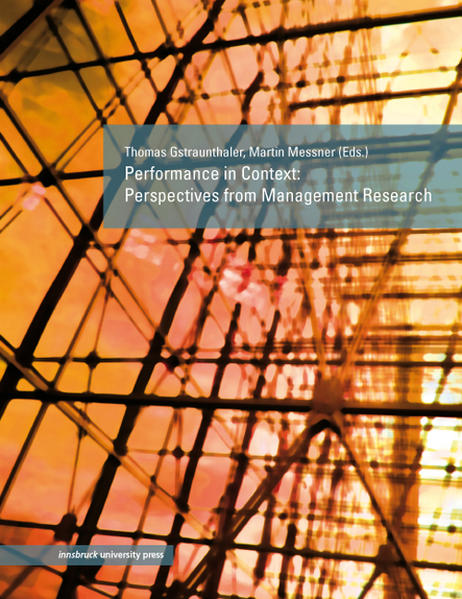 Performance in Context - Coverbild