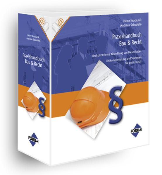 Praxishandbuch Bau & Recht - Coverbild