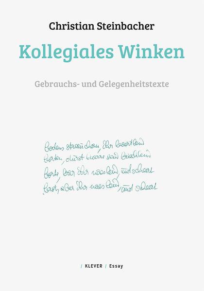 Kollegiales Winken - Coverbild