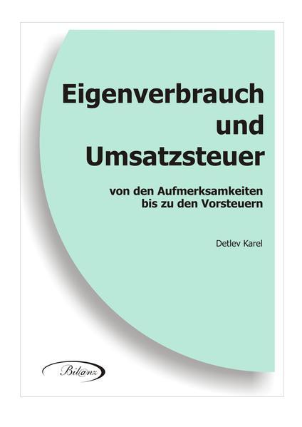 Eigenverbrauch und Umsatzsteuer - Coverbild