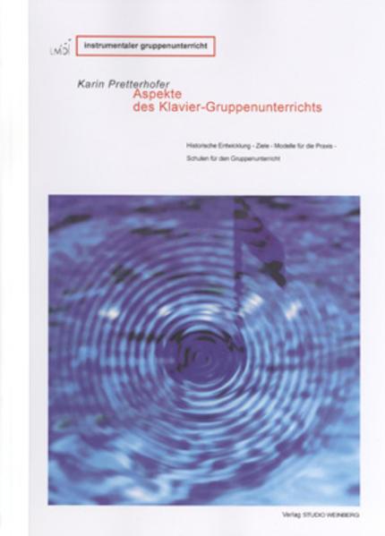 Aspekte des KlavierGruppenunterrichts - Coverbild
