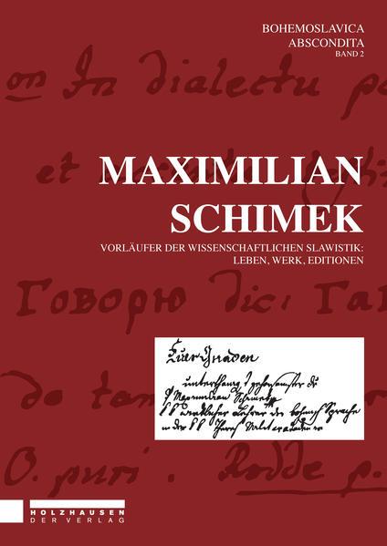 Maximilian Schimek - Coverbild