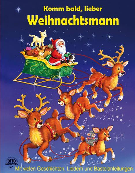 Komm bald lieber Weihnachtsmann - wattierter Cover - Coverbild