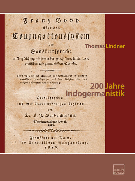 200 Jahre Indogermanistik - Coverbild