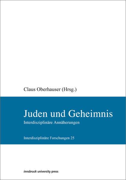 Juden und Geheimnis - Coverbild