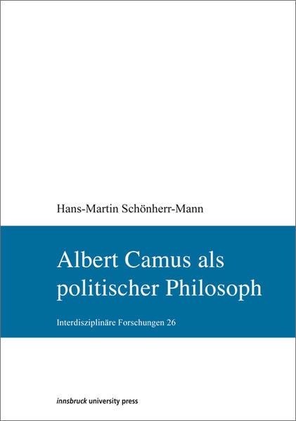 Albert Camus als politischer Philosoph - Coverbild