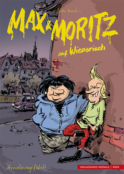 Max und Moritz auf Wienerisch - Coverbild