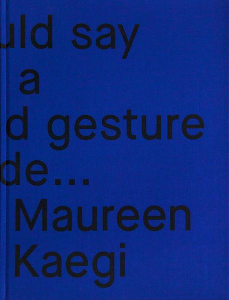 Maureen Kägi - Coverbild