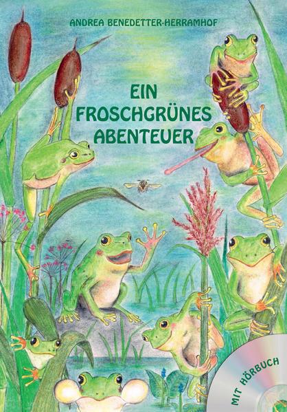 Ein froschgrünes Abenteuer - Coverbild