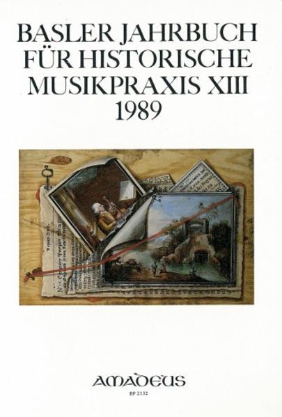 Basler Jahrbuch für Historische Musikpraxis / Abwege und Abgründe in alter Musik - Coverbild