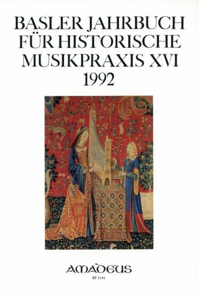 Basler Jahrbuch für Historische Musikpraxis / Modus und Tonalität - Coverbild