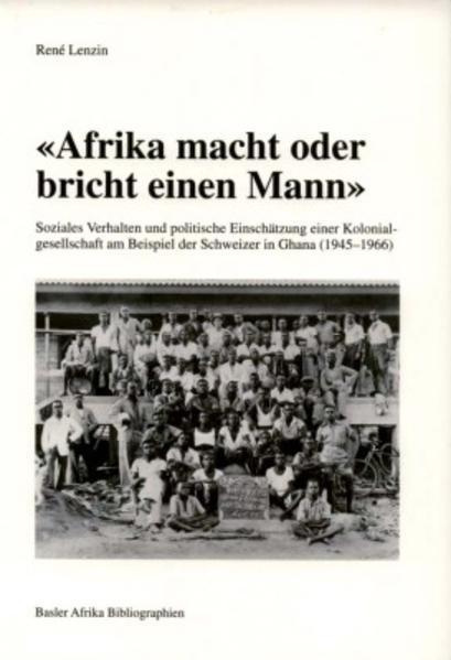'Afrika macht oder bricht einen Mann' - Coverbild