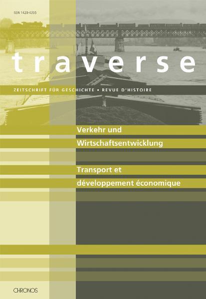 Verkehr und Wirtschaftsentwicklung /Transport et développement économique - Coverbild