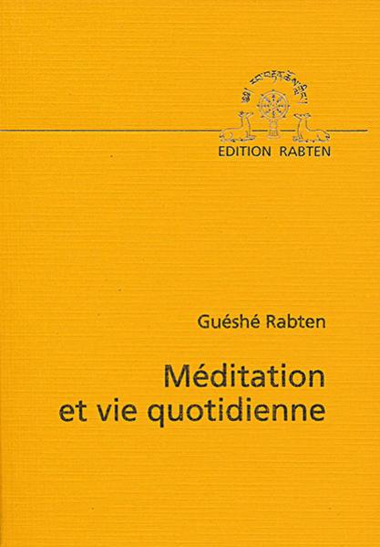 Meditation et vie Quotidienne - Coverbild