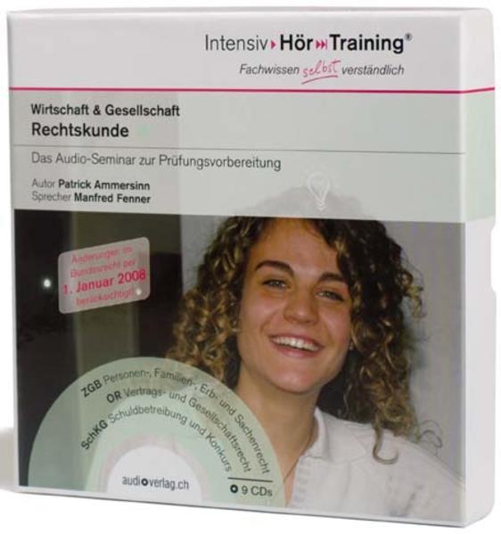 9 CDs - IntensivHörTraining® Rechtskunde - Coverbild