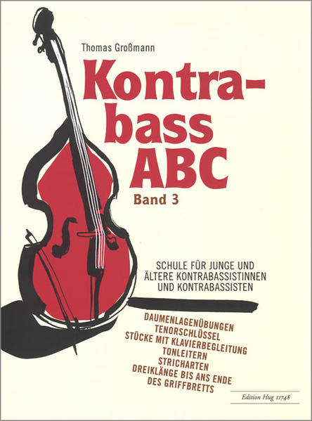 Kontrabass ABC - Band 3 - Coverbild
