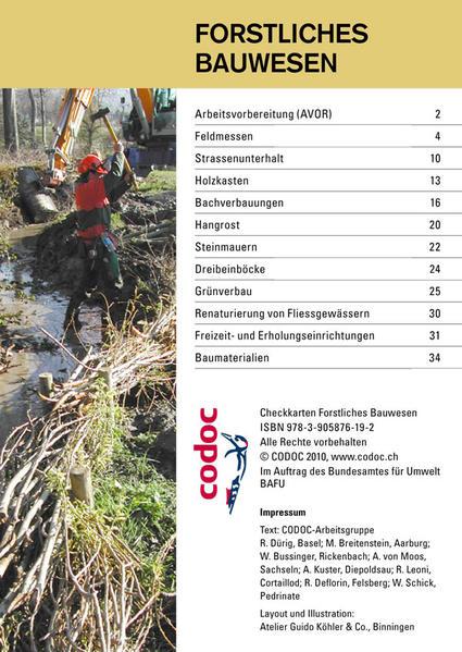 Checkkarte Forstliches Bauwesen - Coverbild